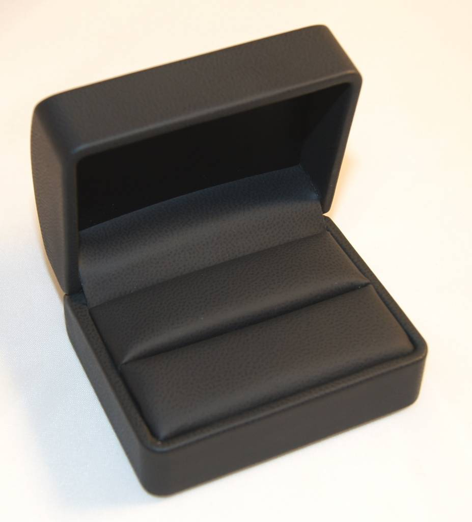 wedding ring case soft touch for the special day august