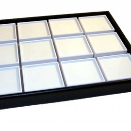 Gemstone stacking tray with 12 boxes (45901NH)