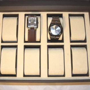 Case for 8 watches