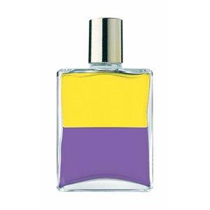 Aura-Soma Aura-Soma B018 - Yellow / Violet - Egyptian Bottle 1 / Turning Tide