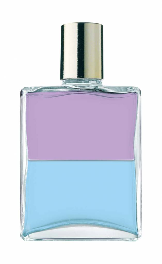 Aura Soma B044 Lilac Pale Blue The Guardian Angel