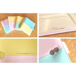 Aura-Soma Aura-Soma EDC74 Aura-Soma Diary Cover B74 Aura-Soma Diary Cover Pale Yellow/Pale Green