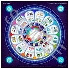 Aura-Soma PL020 Poster: Colour Keys to Astrology, Gelam. 63x85cm -Teaching Tool