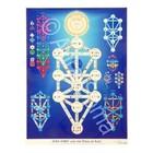 Aura-Soma PL022 Poster: Kabbalah Tree of Life 91 x 91cm -Teaching Tool