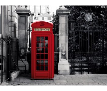Fotobehang London Phone 232 x 315 cm