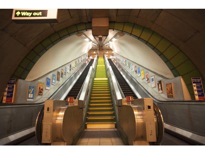 Londen Mural Subway 232 x 315 cm