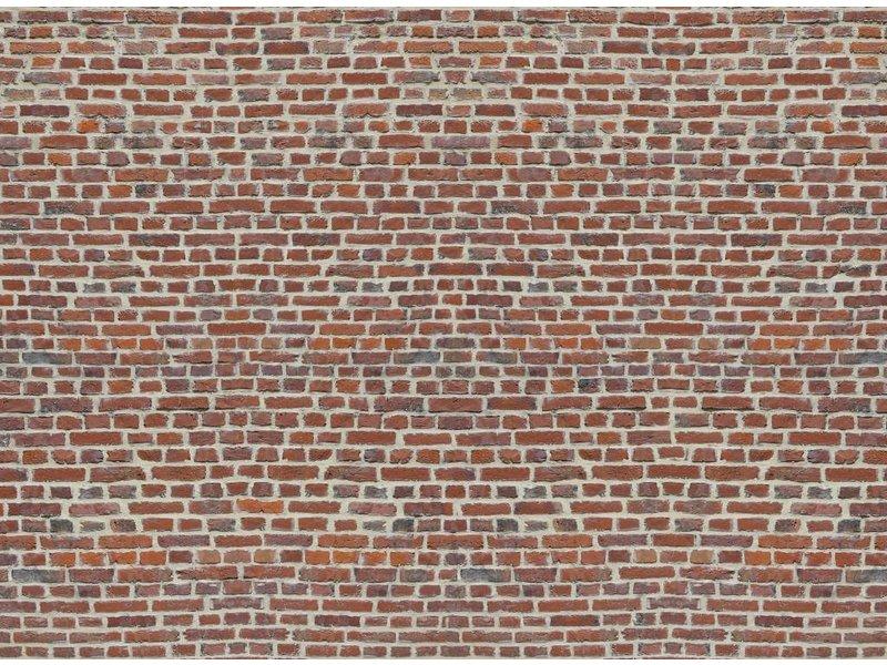 Photo Wallpaper Red Bricks 232 X 315 Cm Simbashopnl