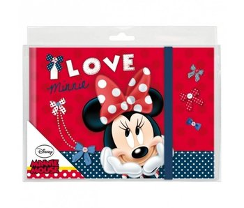 Disney Minnie Mouse Elastic-Tagebuch