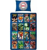 DC Comics Super Heroes - Duvet - Single - 140 x 200 cm - Multi