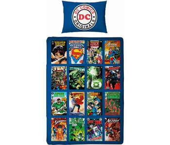 DC Comics Super helden Eenpersoons 140x200cm