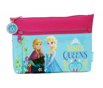 Disney Frozen Nordic Summer pencil case 2 zipper