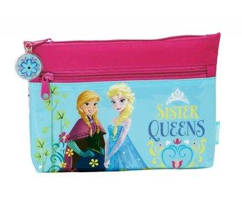 Disney Frozen Nordic Summer pencil case 2 zipper