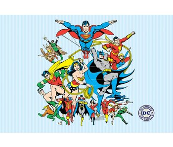 DC Comics Photo Wall Collage