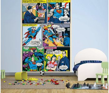 Superman Fotobehang Comic