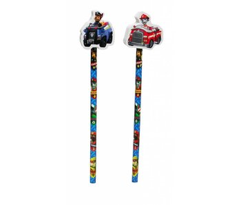 PAW Patrol pencil with eraser
