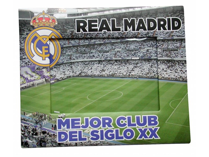 Real Madrid Cardboard Picture Frame Simbashopnl