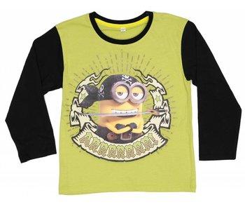 Minions Shirt boys 4 jaar green