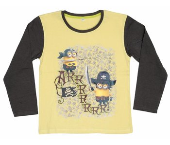 Minions Shirt boys 6 jaar