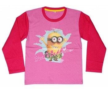 Minions Shirt girls 6 jaar Proud