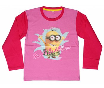 Minions shirt girls 4 jaar Proud