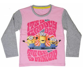 Minions Shirt girls 6 years Groovy