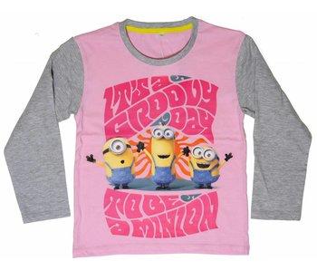 Minions Shirt girls 2 jaar groovy