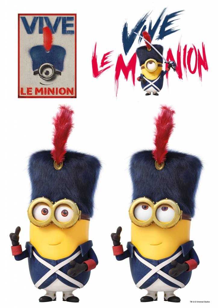 Minions Wall Sticker French Revolution