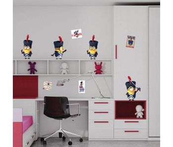 Minions Wall Sticker Französisch Revolution