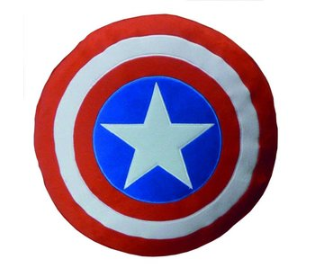 Marvel Avengers 3D kussen Schild 100% Polyester ø36 cm