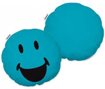 Smiley 3D kussen 3D Lagune 100% Polyester ø36 cm