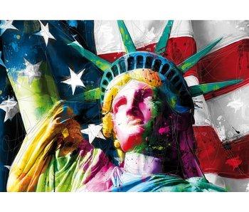 Patrice Murciano Fotobehang Lady Liberty 366x253cm