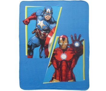 Marvel Avengers Fleece plaid INVINCIBLE 100% Polyester 110x140cm