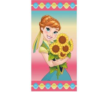 Disney Frozen Anna Sunflowers beach towel 70x140 cm