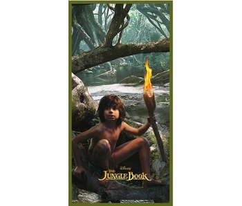 Jungle Book Mowgli beach towel 70x140 cm