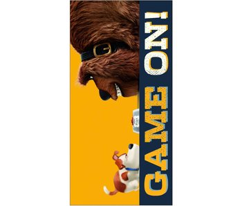 The Secret Life of Pets Beach Towel Game On