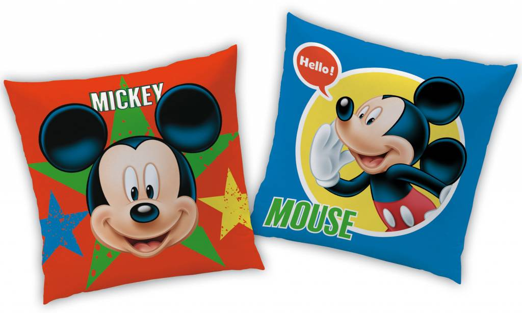 Disney Mickey Mouse Expressions - Kussen - 40 x 40 cm - Multi ...