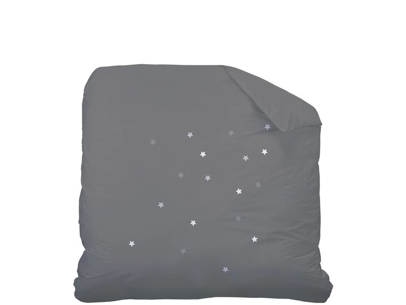 matt rose douce nuit couette lits jumeaux 240 x 220 cm anthracite. Black Bedroom Furniture Sets. Home Design Ideas