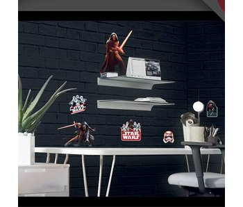 Star Wars Wall Stickers 2 x sheets A3