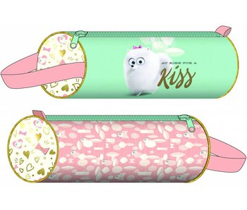 The Secret Life of Pets Round Pencil Case Kiss 20x6cm