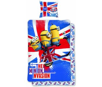 Minions Hallo London Bettbezug 140x200cm + 65x65cm