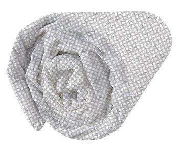 Matt & Rose Hoeslaken Esprit géométrique Grijs 90x200cm