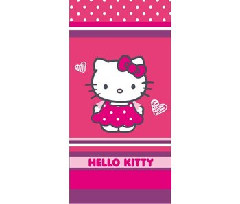 Hello Kitty Dress beach towel 75x150cm
