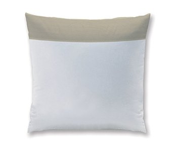 Matt & Rose Cushion Chaleureux Gouter White / Taupe 65x65cm