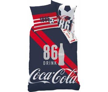 Coca Cola Duvet Sports 140x200 + 63x63 cm