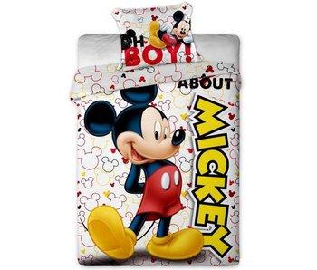 Disney Mickey Mouse Über Bettbezug 140x200 + 63x63cm micro