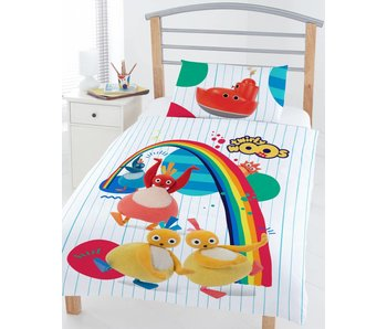Twirlywoos Junior duvet cover 120x150cm + 42x62cm Poly Cotton