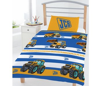 JCB Junior Bettbezug 120x150cm + 42x62cm Poly Cotton