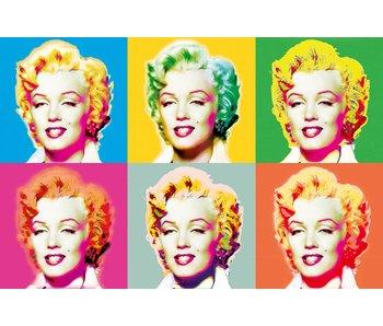 Fotobehang PosterXXL Visions of Marilyn 175x115 cm