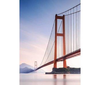 Fotobehang Xihou Brücke 183x254 cm