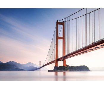 Fotobehang Xihou Brücke 366x254 cm
